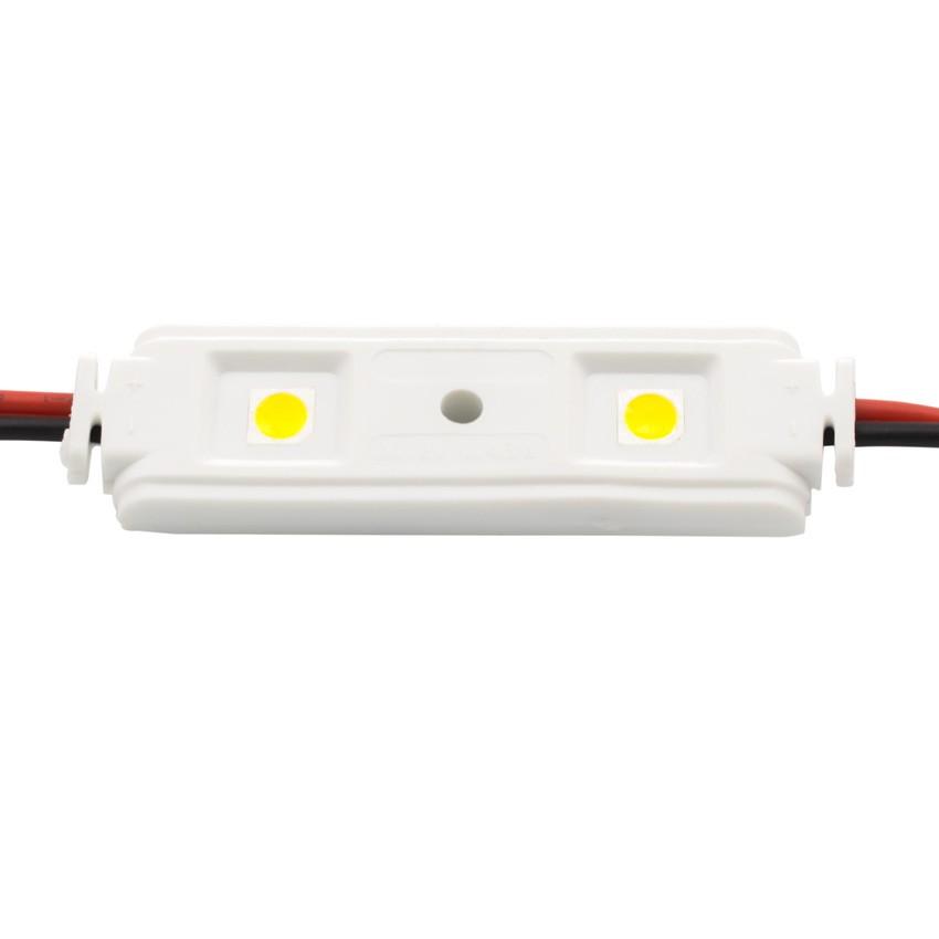 Cadena de 20 Módulos Lineales de 2 LEDs SMD5050 12V 0.48W