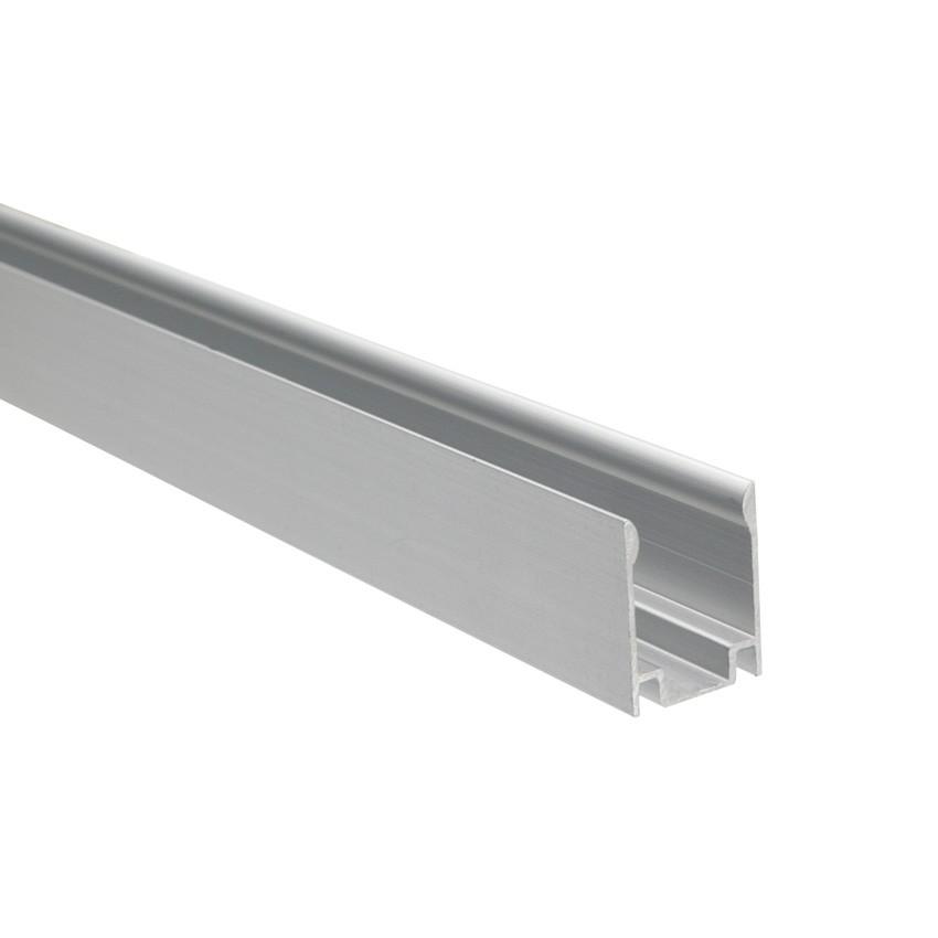 Perfíl de Alumínio 1m para Neón LED Flexivél Monocôr