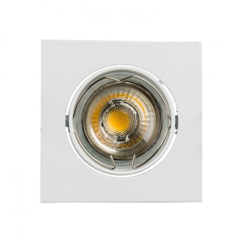 Aro Downlight Cuadrado Basculante 83mm