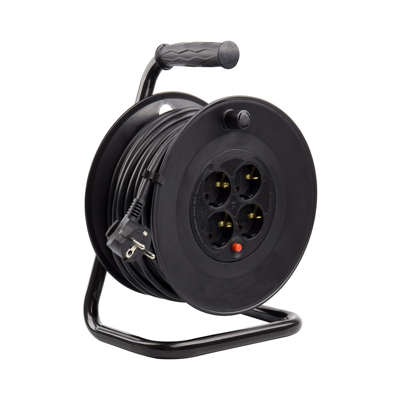 Carrete-Alargador-de-Cable-25m-Liso-3x1-5-mm-Componentes-Electricos miniatura 9