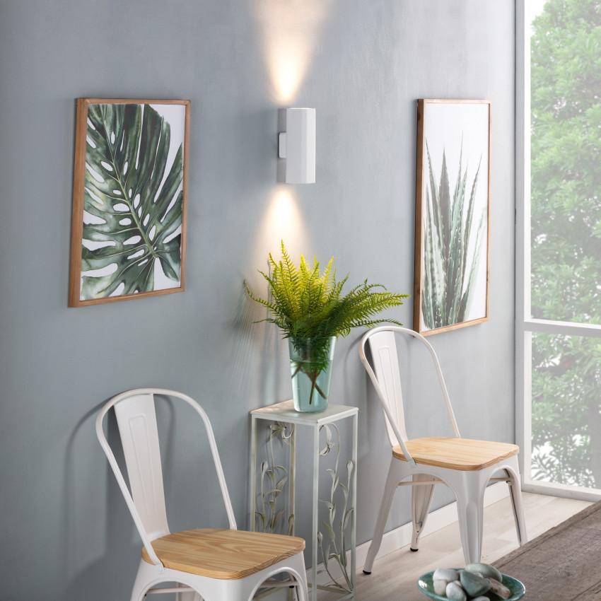Aplique LED Parede Amatista Iluminação Dupla