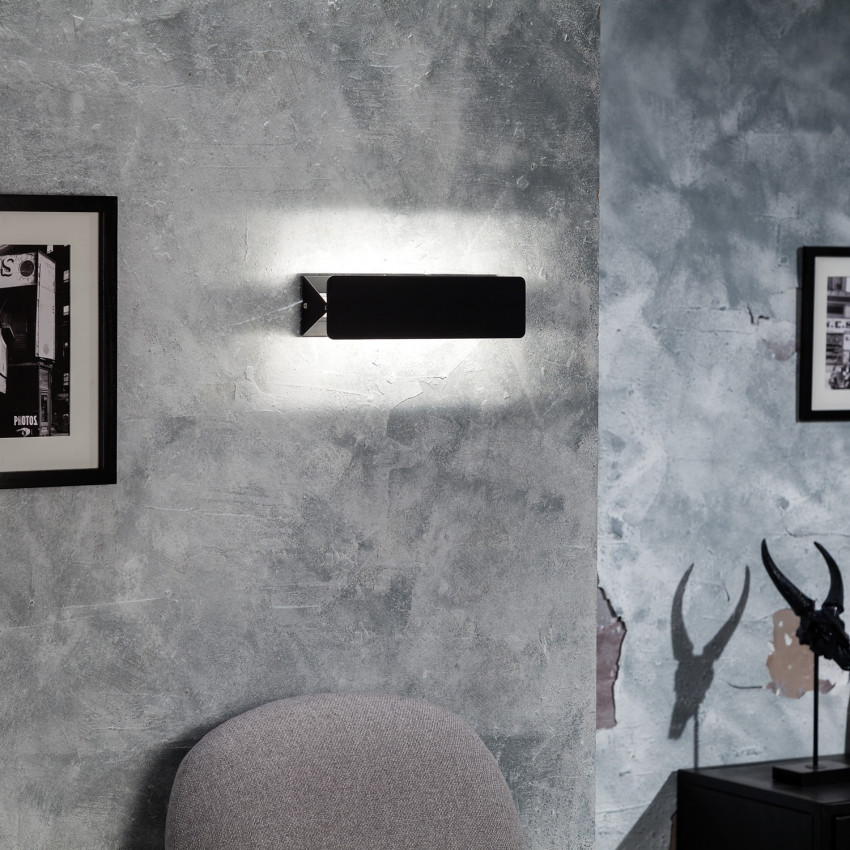 Aplique LED Temis 10W Negro