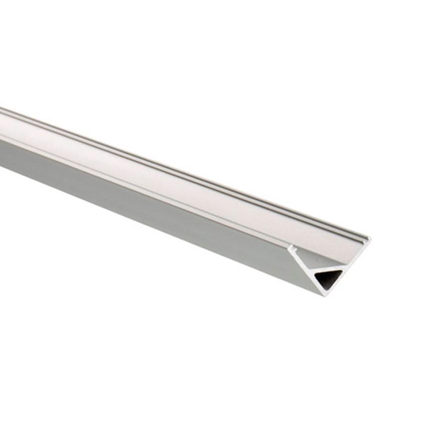Perfíl de Alumínio para Esquinas Triangular 1m para Fita LED