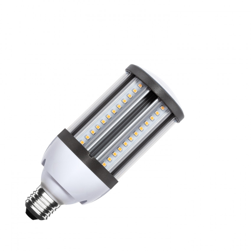 Lâmpada LED Iluminação Pública Corn E27 18W IP64