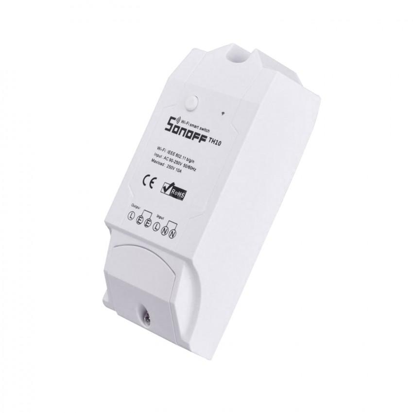 Monitor para Sensor de Temperatura y Humedad WiFi SONOFF TH10 V1