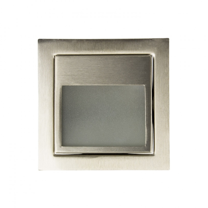 Baliza LED Larry Acabado Acero 1.5W