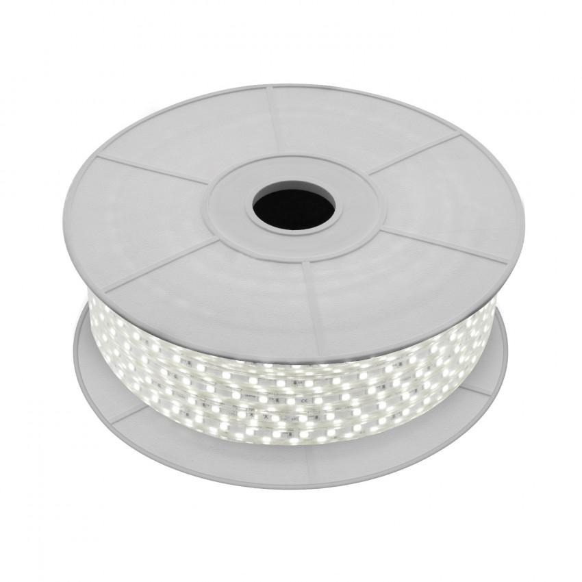 Rolo de Fita LED 220V AC SMD5050 60 LED/m Branco Natural (50 Metros)