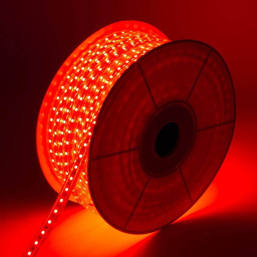 Rolo de Fita LED Regulável 220V AC 60 LED/m 50m Vermelho IP65 Corte cada 100cm