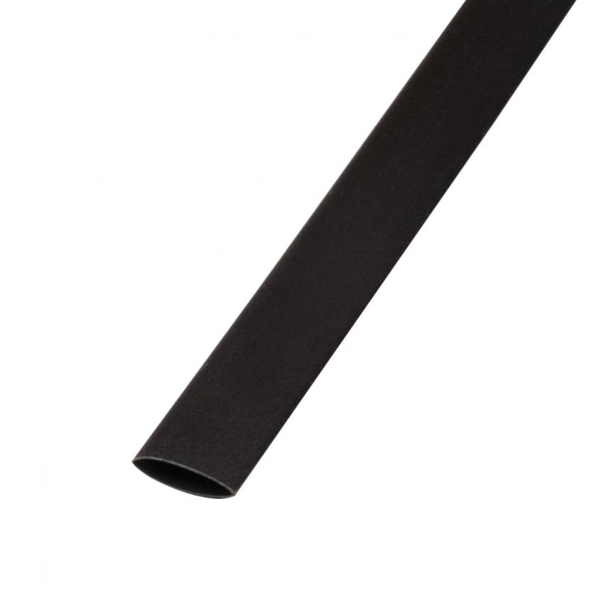 Tubo Termoretráctil Preto Contração 3:1 24mm 1 metro