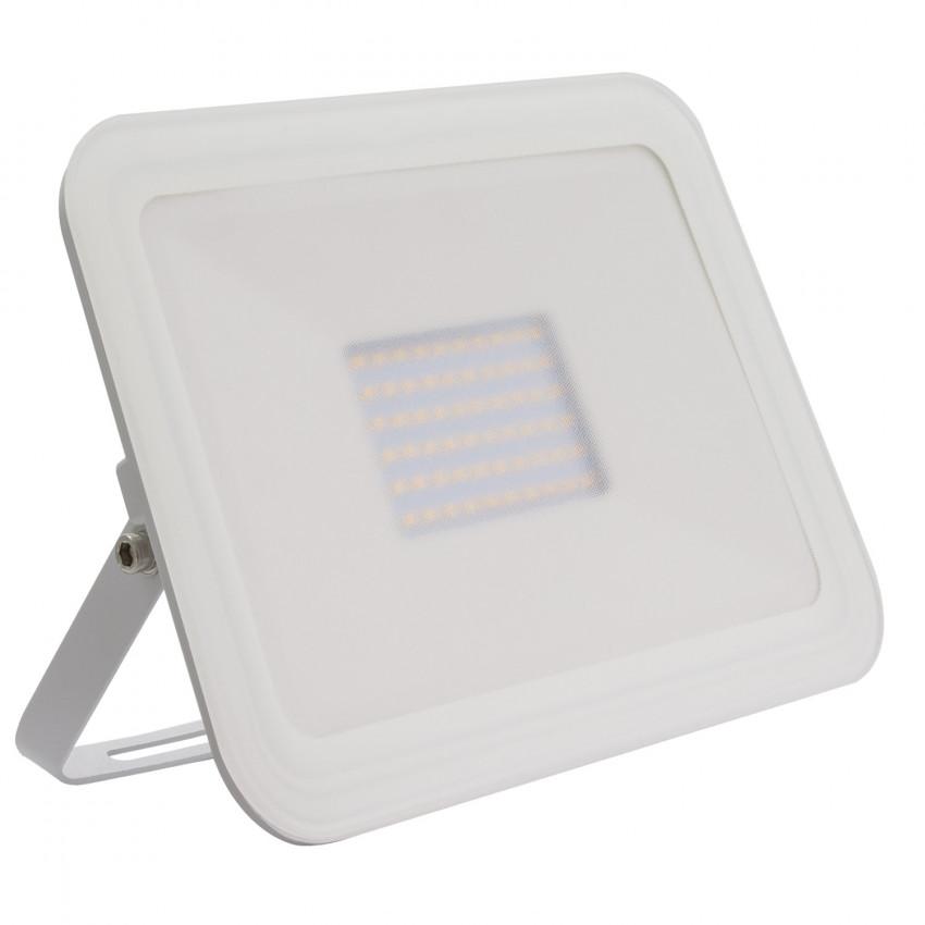 Foco Projector LED Slim Cristal 100W Branco