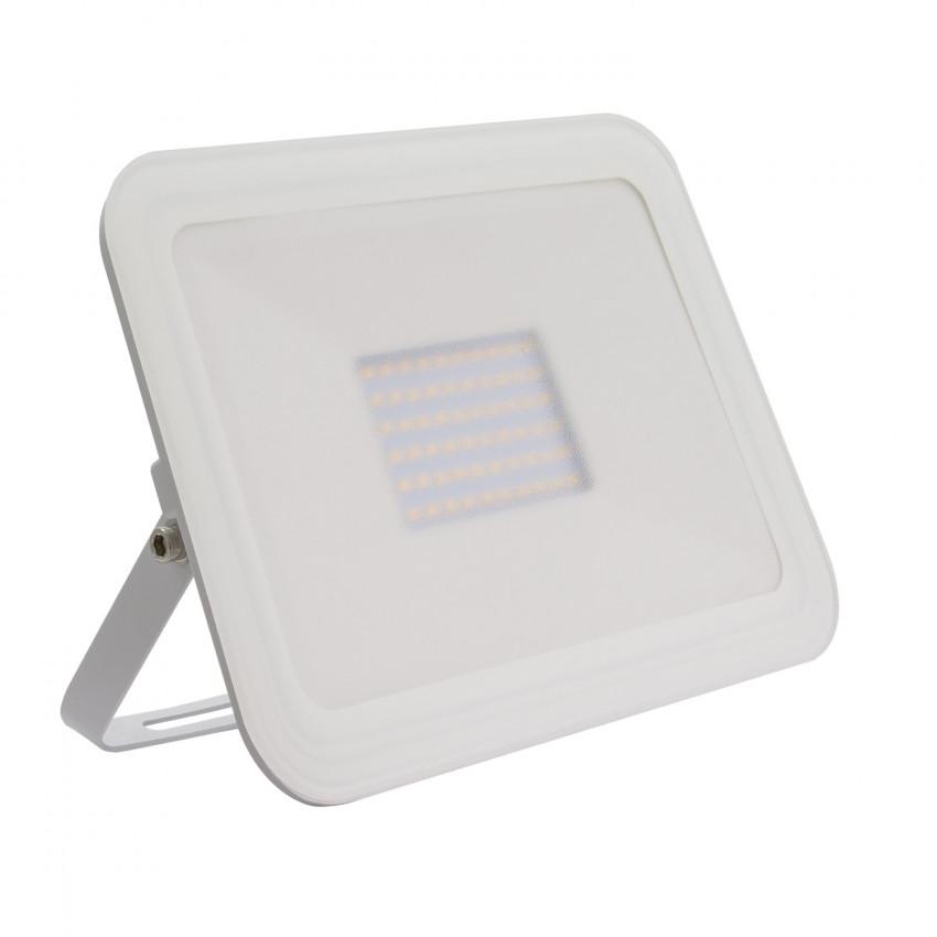 Foco Projector LED Slim Cristal 50W Branco