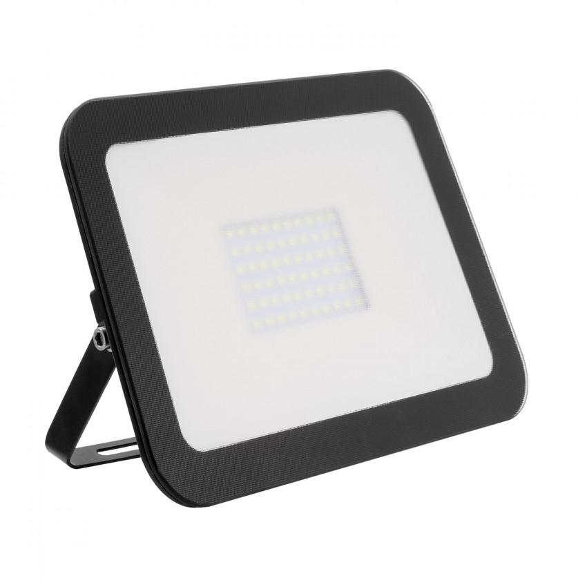 Foco Projector LED Slim Cristal 50W Preto