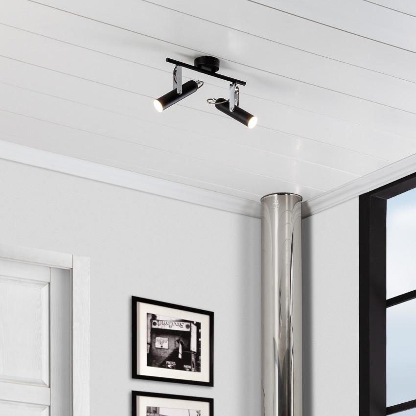 Candeeiro de Teto LED Orientável Bari 2 Focos 8W