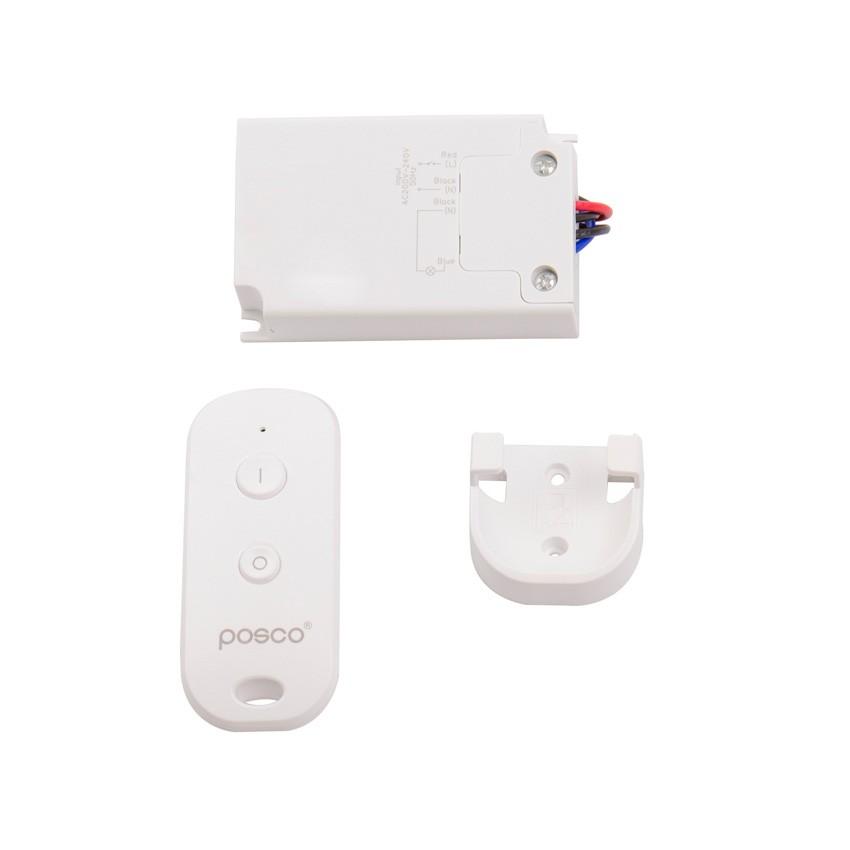 Interruptor Simple con Mando Control Remoto RF