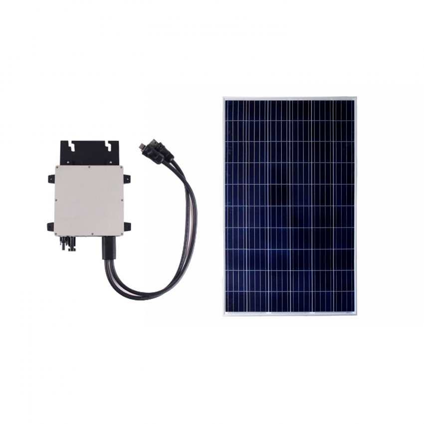 Pack Panel Solar Fotovoltaico Policristalino 320W BYD Clase A + Microinversor 300W