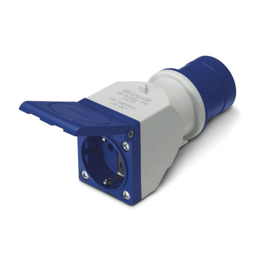 Adaptador IEC309 a Enchufe Tipo F IP54 SCAME