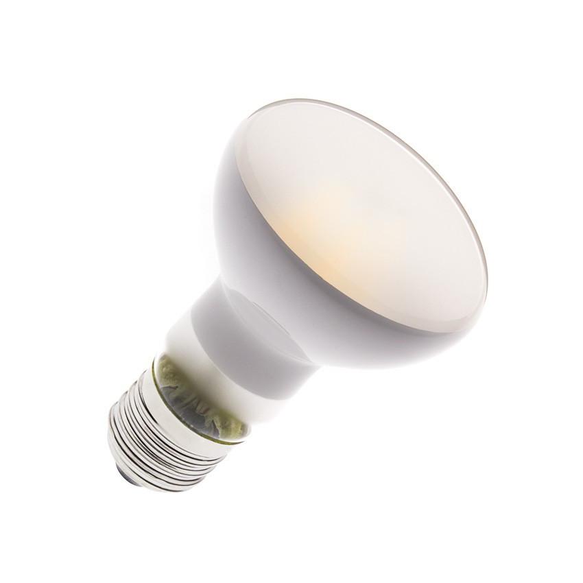 Bombilla LED E27 Regulable Filamento R63 Frost 4W