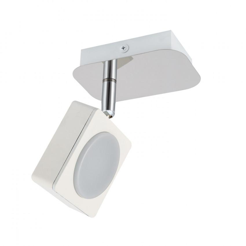 Aplique LED Orientável Capri 1 Foco 6W Branco