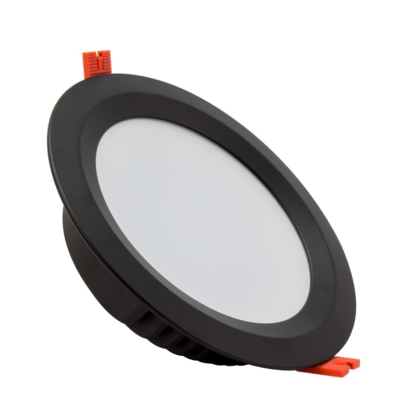 Downlight LED Aero Samsung 120lm/W 30W Preto