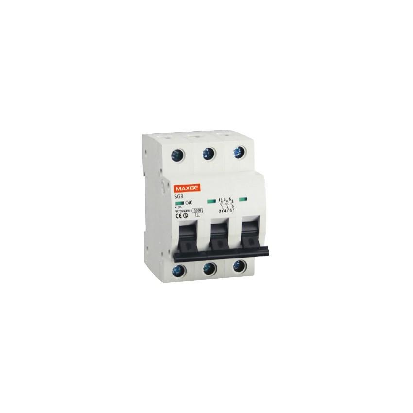 Interruptor Automático Industrial MAXGE 3P-40A-6kA