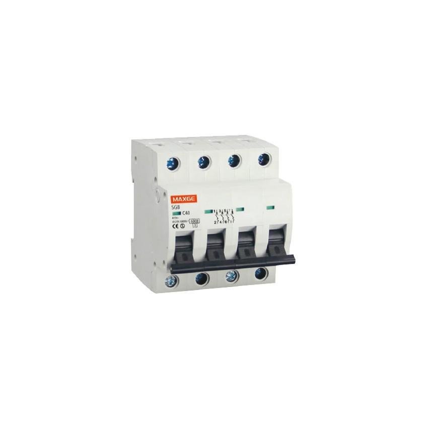 Interruptor Automático Industrial MAXGE 4P-40A-6kA