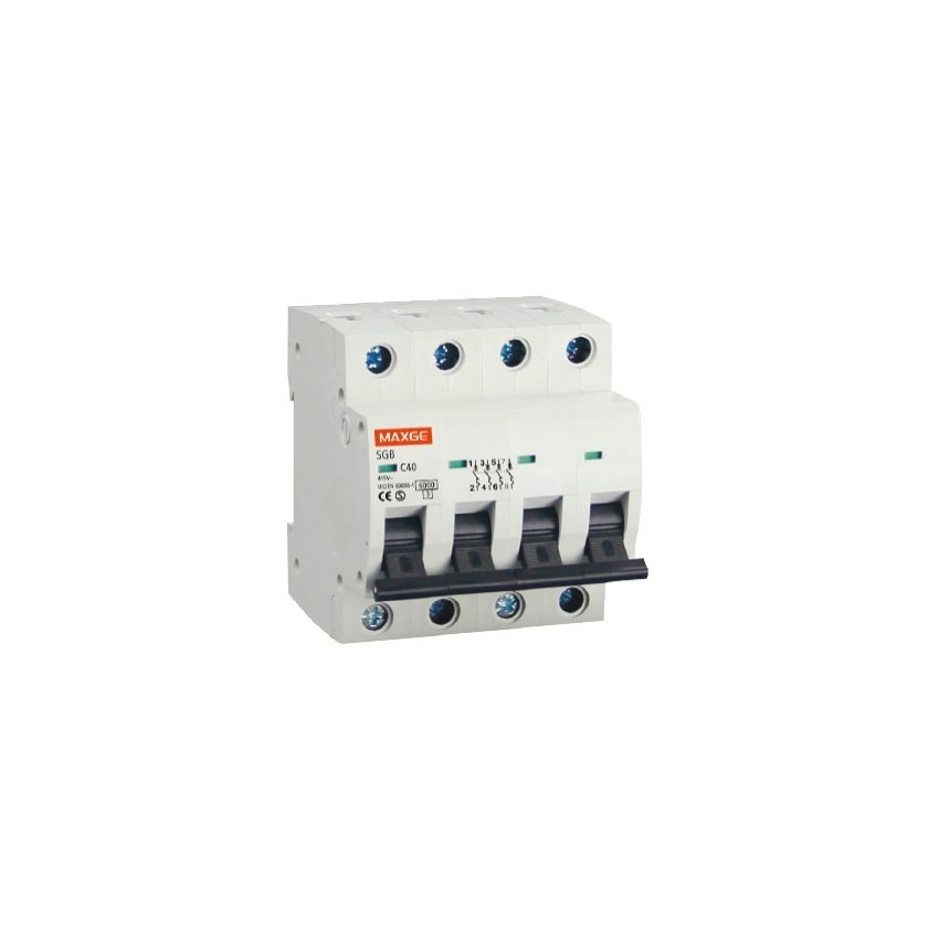 Interruptor Automático Industrial MAXGE 4P-50A-6kA