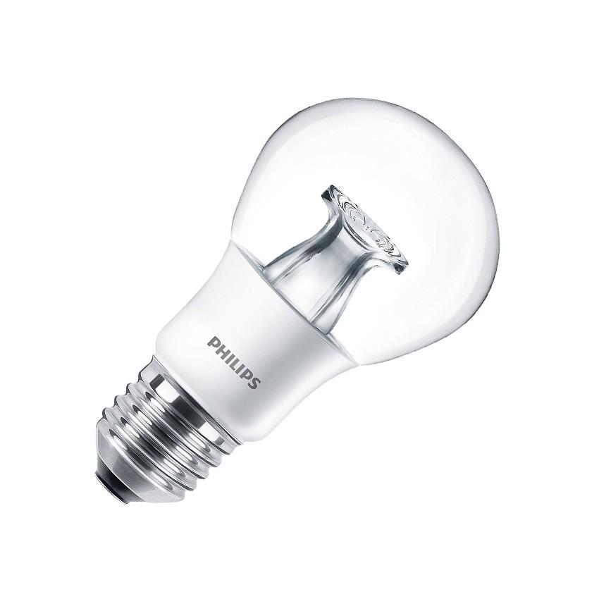 Lâmpada LED E27 A60 Regulável PHILIPS Master DT 6W