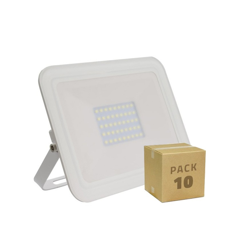 Pack Foco LED Slim Cristal 30W Blanco (10x8.99€)