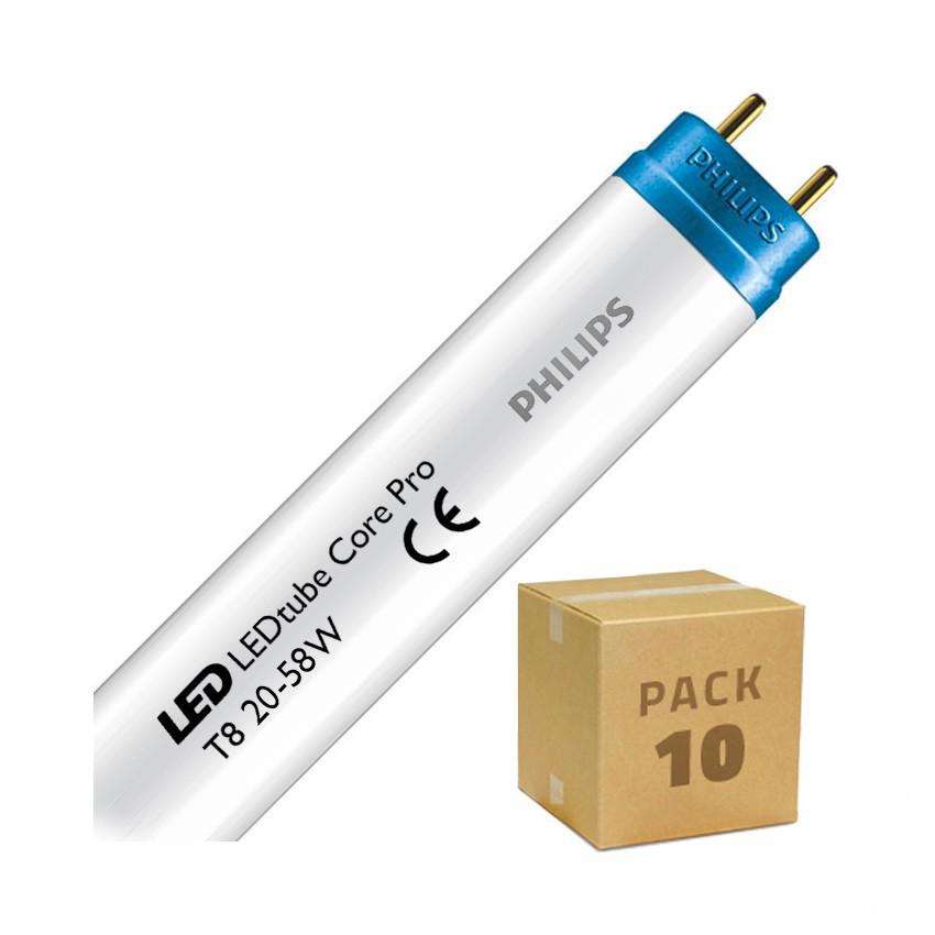 Pack Tubos LED PHILIPS CorePro T8 1500mm Conexão Uni-Lateral 20W 110lm/W (10 un)