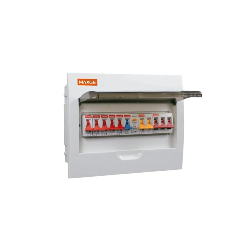 Pack Cofret 18 Módulos + 6 Interruptores Magneto-Térmicos + Interruptor Diferencial + Protector Sobre-Tensões Transitórias