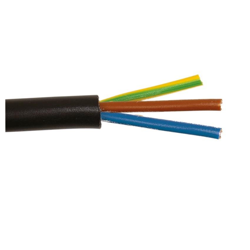 Cable Eléctrico Manguera 3x1mm² 1.9m H05RN-F