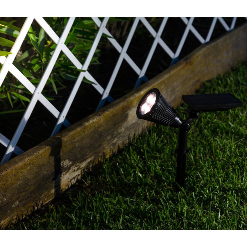 Foco LED Solar com Espeto IP65
