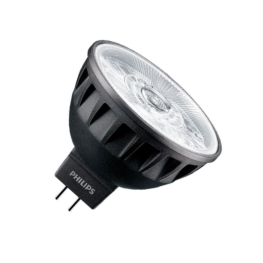 Lámpara LED GU5.3 MR16 Philips 12V ExpertColor 7.5W 36º Black