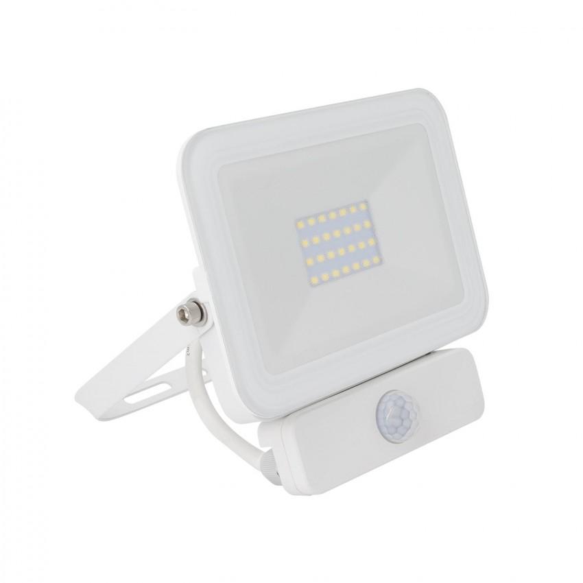 Foco Proyector LED 20W 120 lm/W IP65 Slim con Detector de Movimiento PIR