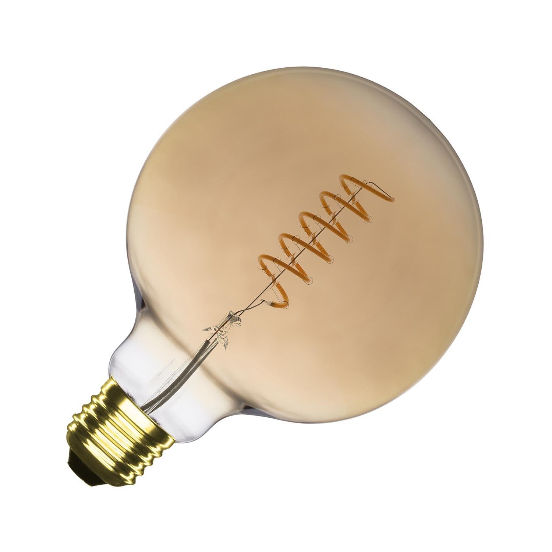 Bombilla LED E27 Regulable Filamento Gold Orbit G125 4W