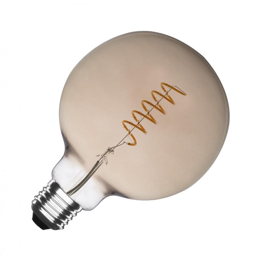 Bombilla LED E27 Regulable Filamento Espiral Smoke Supreme G125 4W