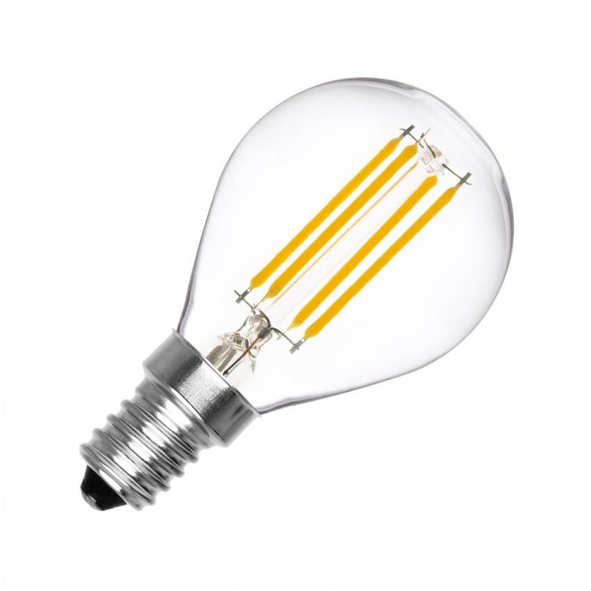 Lâmpada LED E14 Regulável Filamento Sphere G45 3W