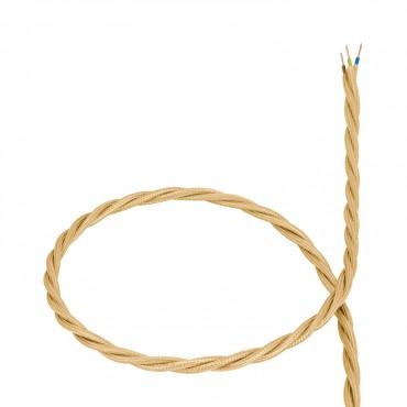 Cable Trenzado de Suspensión Dorado