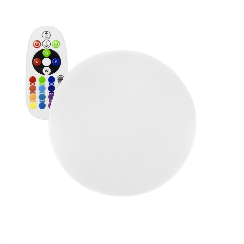 Esfera LED RGBW 40cm Recarregável