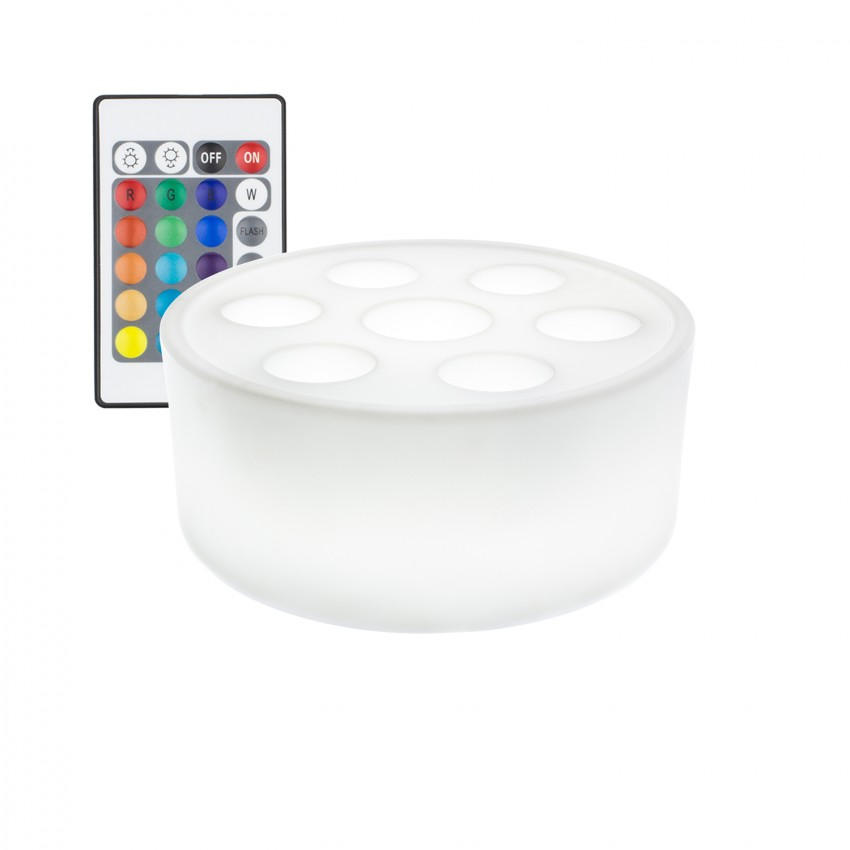 Bandeija Aquática LED RGBW Recarregável