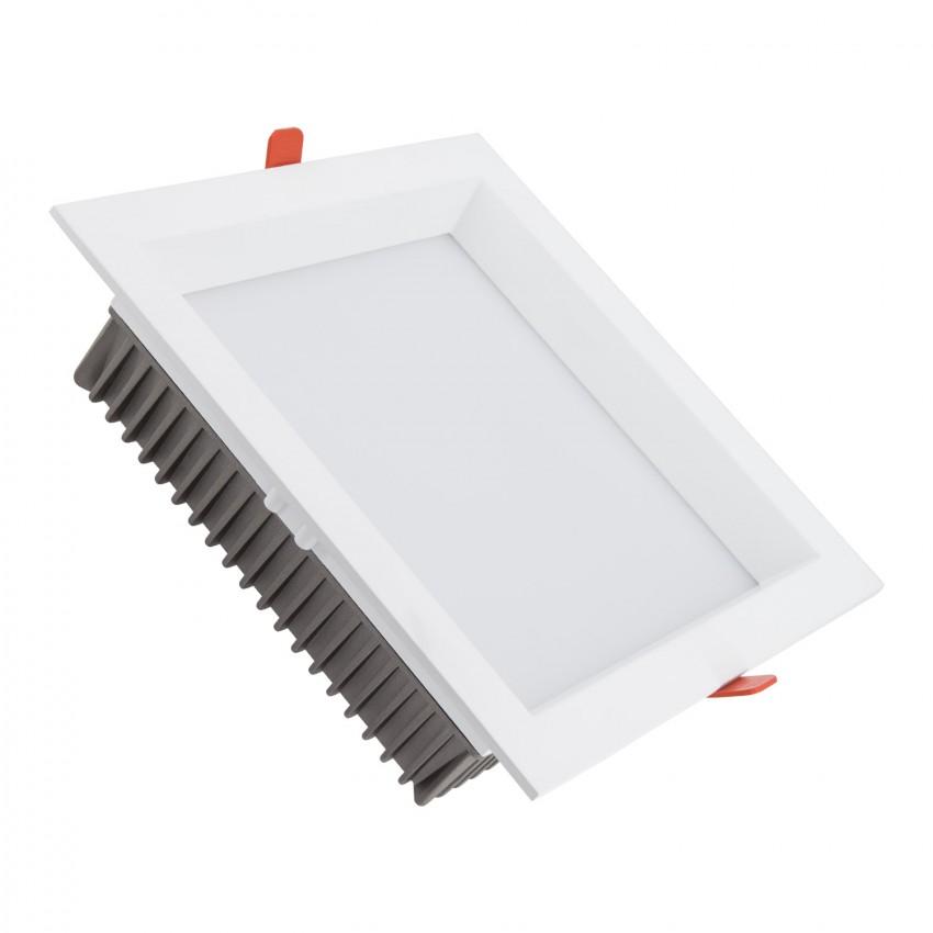 Downlight LED 30W SAMSUNG Aero Cuadrado 120lm/W (UGR 19) Corte 200x200 mm