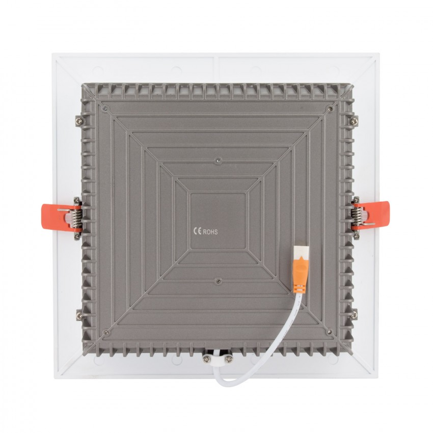Downlight LED Cuadrado Samsung 120lm/W 25W