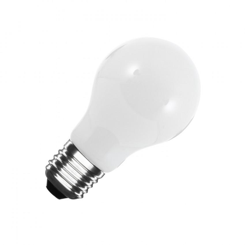 Lâmpada LED E27 A60 Glass 8W