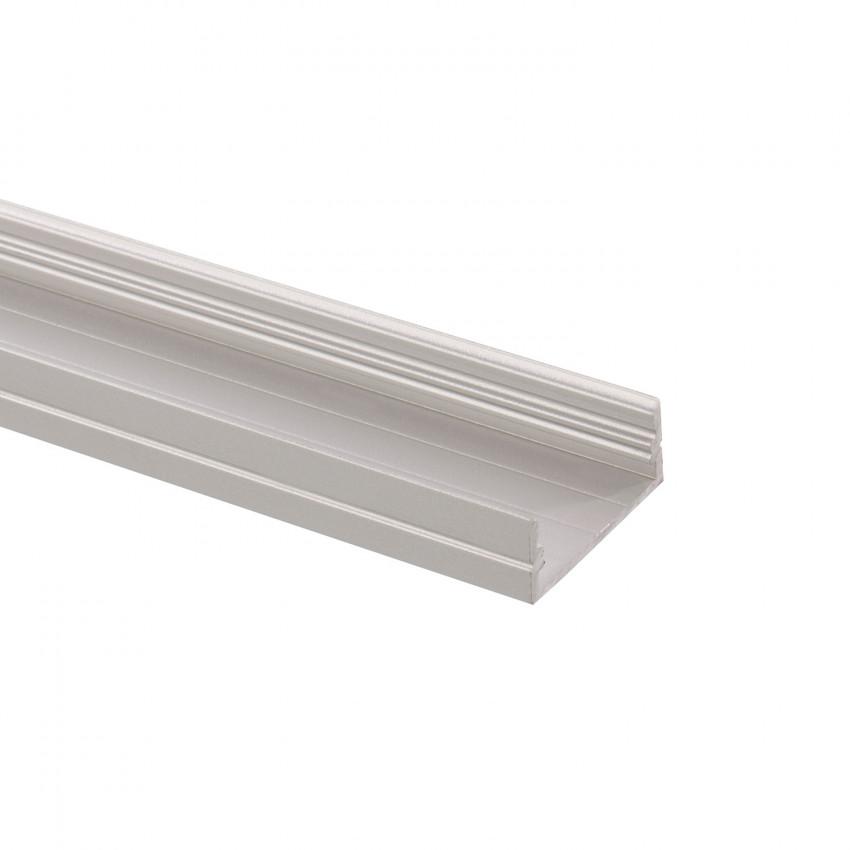 Perfil de Alumínio de Superficie 1m para Fita Dupla LED