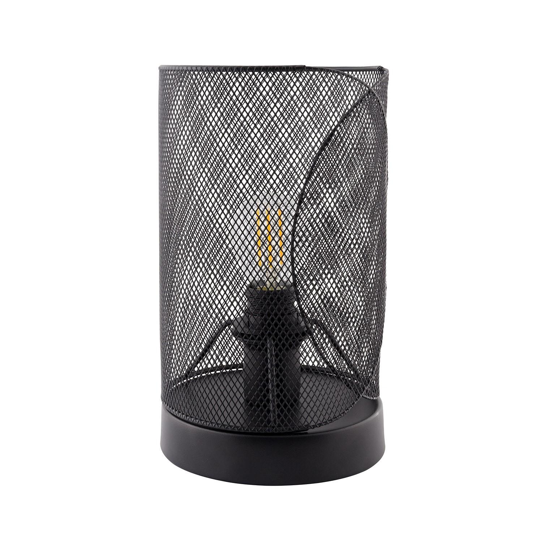 Lámpara de Sobremesa con Base Klam Negro