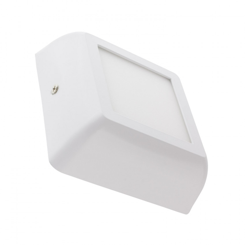 Plafón LED 6W Cuadrado Design White
