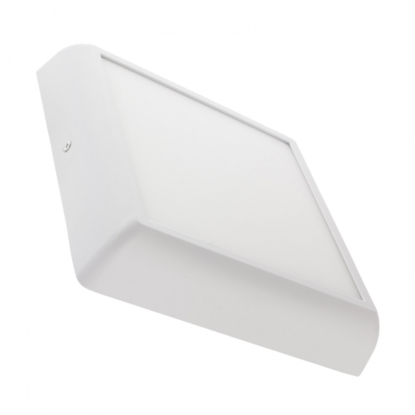Plafón LED 18W Cuadrado Design White