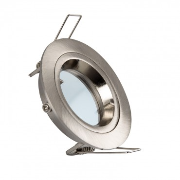 Aro Downlight Circular Blanco para Bombilla LED GU10 / GU5.3