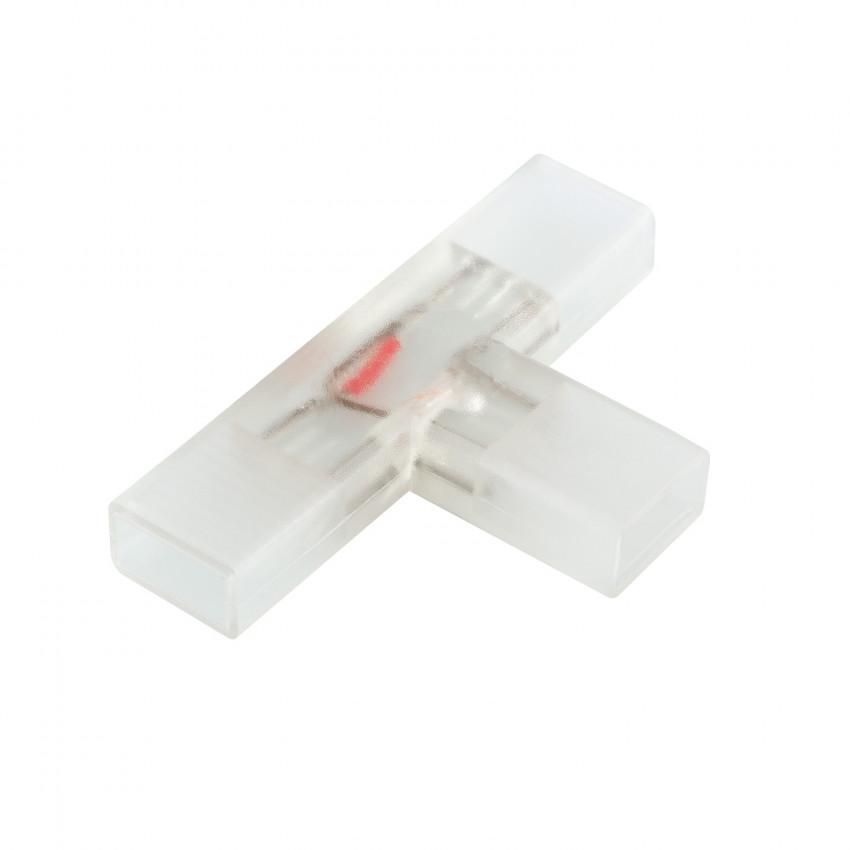 Conector Tipo T Fita LED SMD5050 Monocolor 220V AC