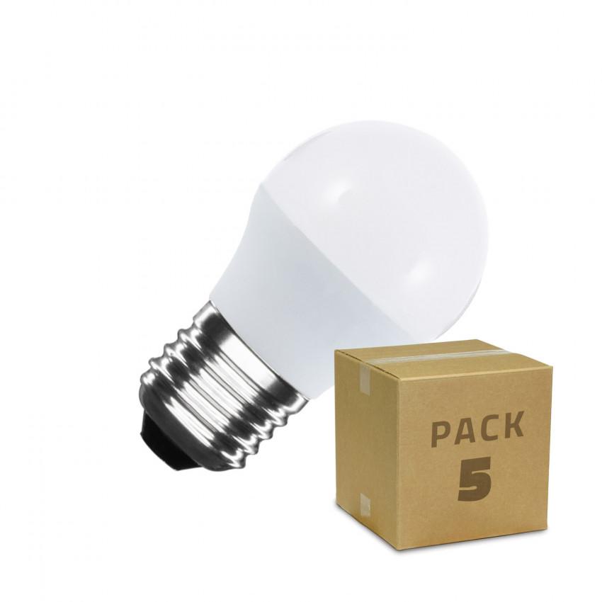 Pack Lâmpadas LED E27 G45 5W (5 un)
